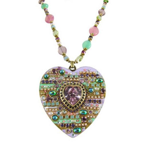 Michal Golan Heart Pendant N1283