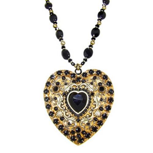 Michal Golan Heart Pendant-N1236