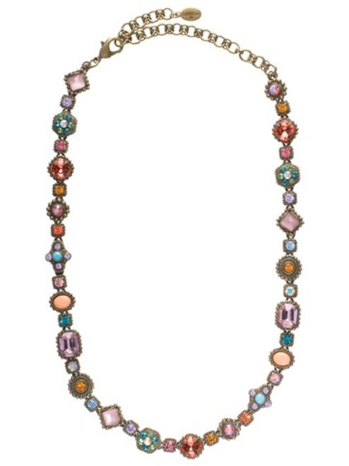 Beautiful Lollipop Crystal Necklace Pies