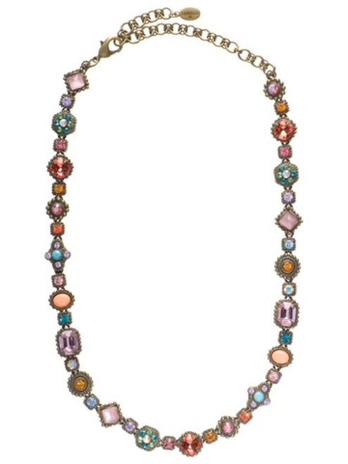 SORRELLI-  Lollipop Crystal Necklace ~NBW18AGLP