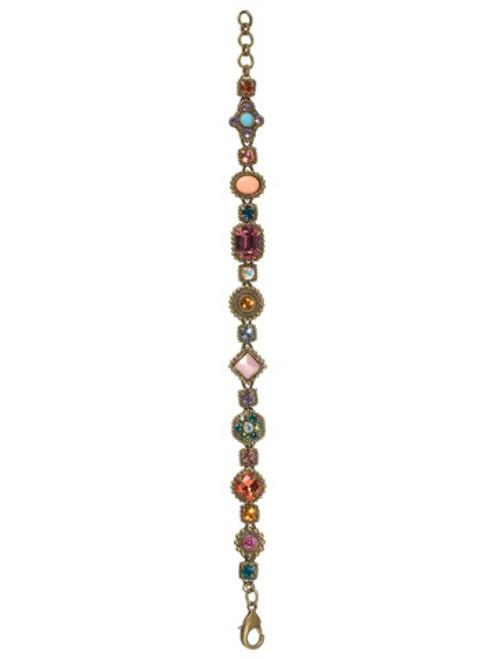 Sorrelli Lollipop Crystal Bracelet BBW18AGLP