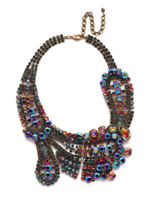 Sorrelli Volcano Bold Crystal Necklace- NBZ22AGVO