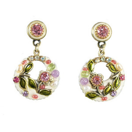 Michal Golan Pearl Blossom Earrings