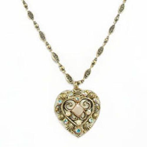 Michal Golan Riverstone Heart Pendant-N1735