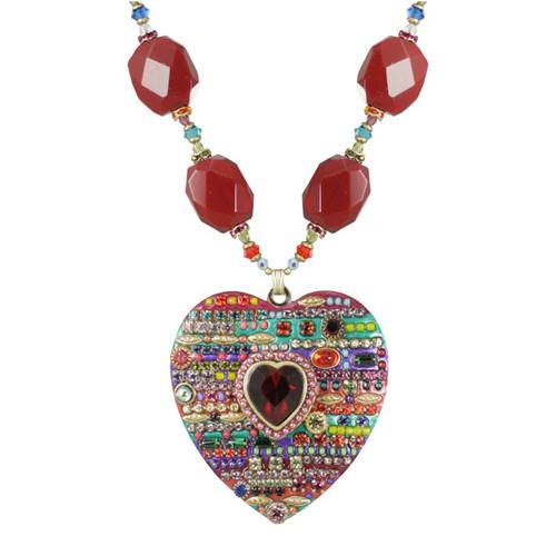 Michal Golan Heart Pendant - N116