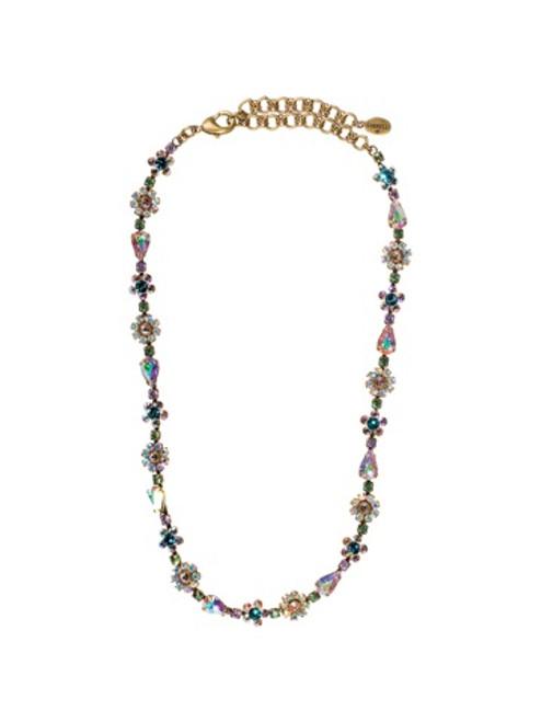 Sorrelli Smitten Crystal Necklace NBP90AGSMI