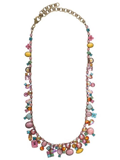 Sorrelli Lollipop Crystal Necklace nax8aglp