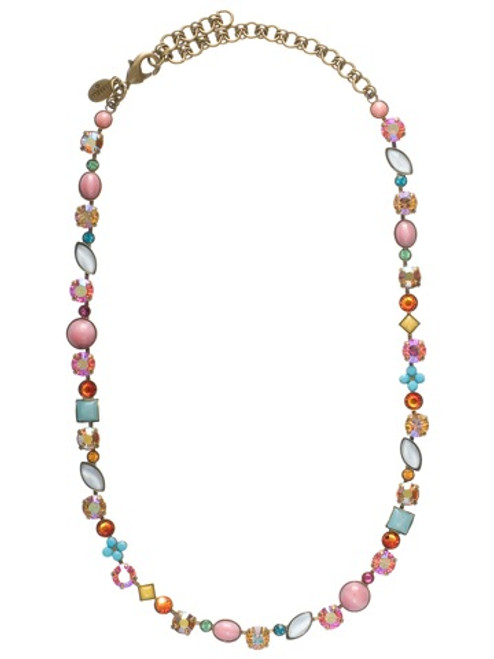 Sorrelli Lollipop Crystal Necklace naq3aglp