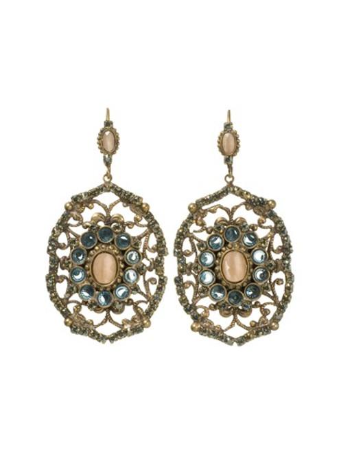 Sorrelli AQUA BUBBLES- Crystal Earrings~ EBW45AGAQB
