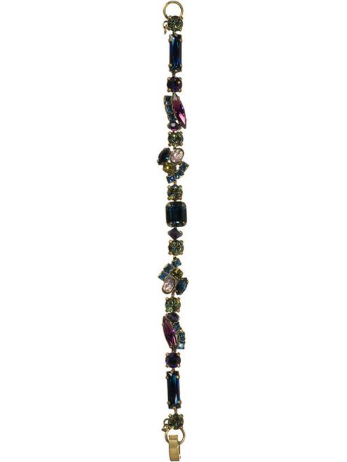 Full View SORRELLI AURORA SKY SWAROVSKI CRYSTAL BRACELET BCE1AGAUS