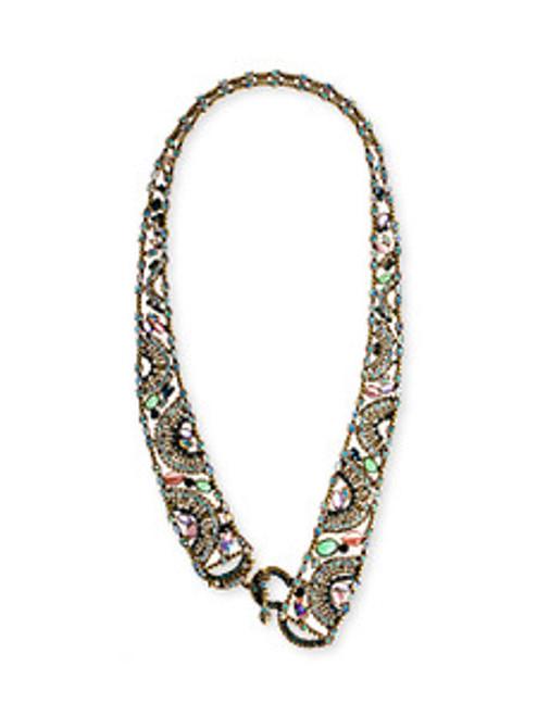 Sorrelli Smitten Crystal Mesh Style Necklace