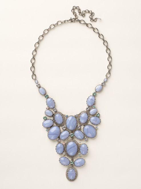 SEASIDE CRYSTAL NECKLACE BY SORRELLI NCU1ASSEA