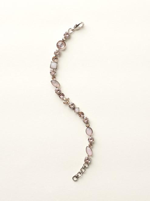 Sorrelli Satin Blush Crystal Bracelet