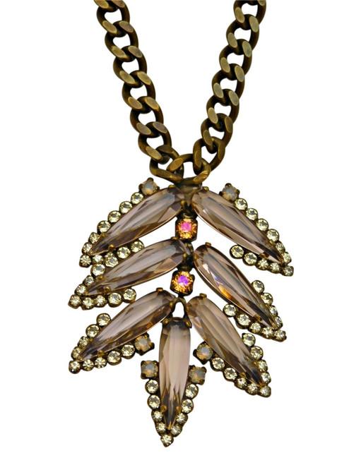 Sorrelli Desert Sun Crystal Necklace NCY24AGDS