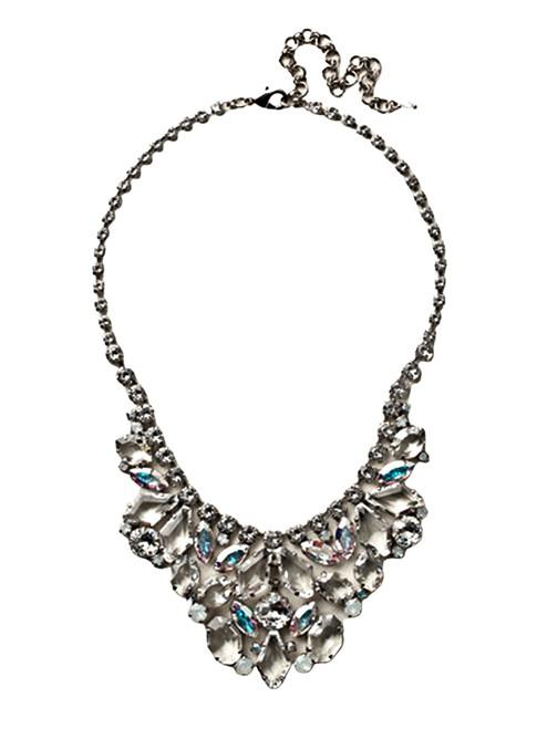 Sorrelli White Bridal Crystal Necklace~NCZ15ASWBR