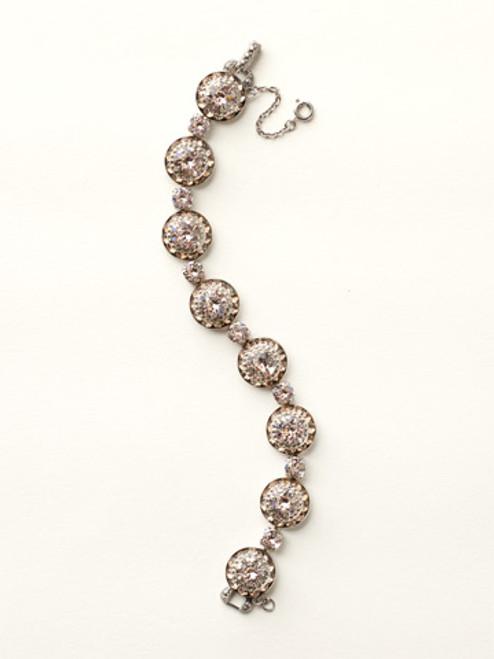 Sorrelli Satin Blush Crystal Bracelet BCZ8ASSBL