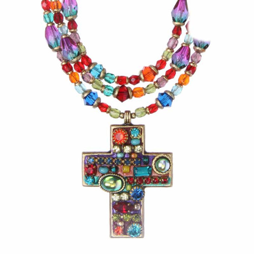 MICHAL GOLAN MULTI BRIGHT CROSS N2792