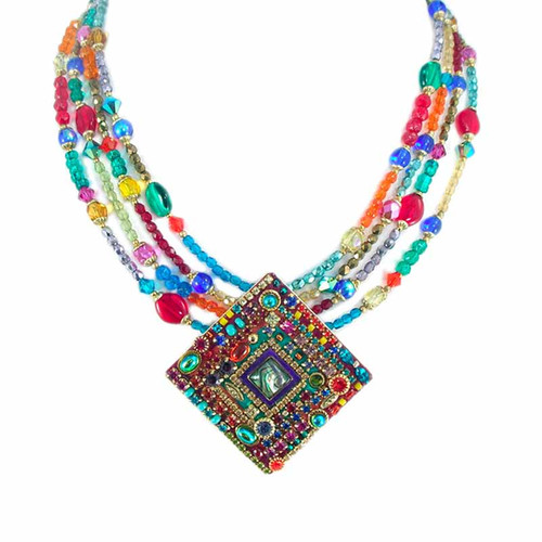 MICHAL GOLAN MULTI BRIGHT NECKLACE
