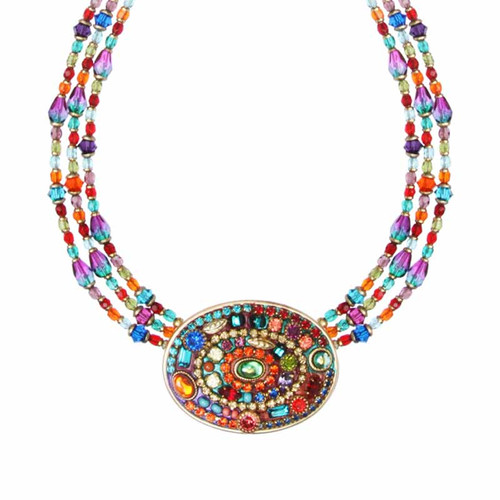 MICHAL GOLAN MULTI BRIGHT NECKLACE N2767