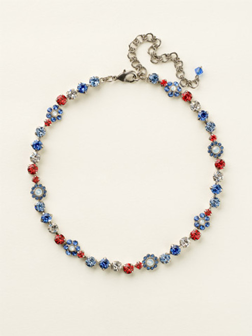 Sorrelli Stars and Stripes Necklace NBE2ASUSA