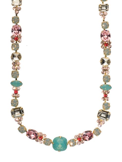 Sorrelli Coral Reef Crystal Necklace ncd2bgcor