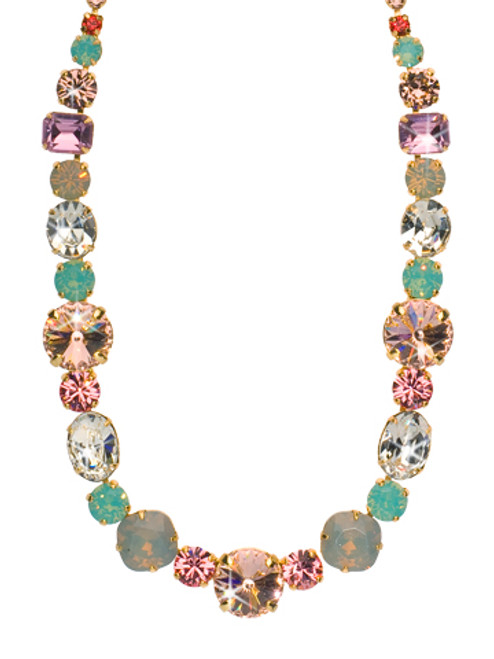 CORAL REEF CRYSTAL NECKLACE BY SORRELLI NCP38BGCOR