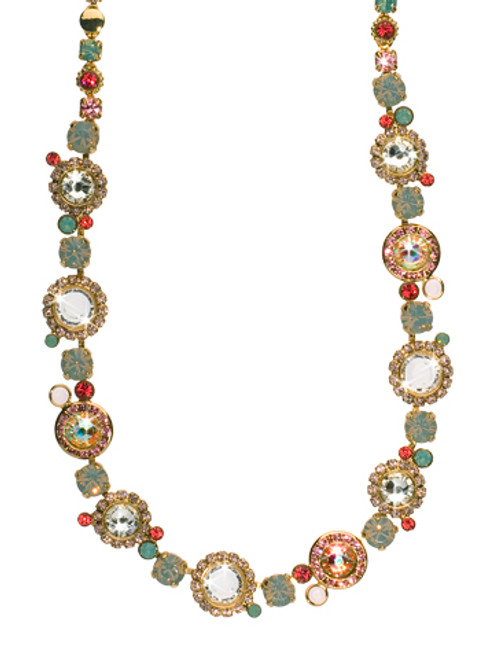 CORAL REEF CRYSTAL NECKLACE BY SORRELLI NCE12BGCOR