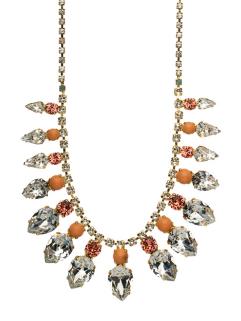 Sorrelli Coral Reef Crystal Necklace