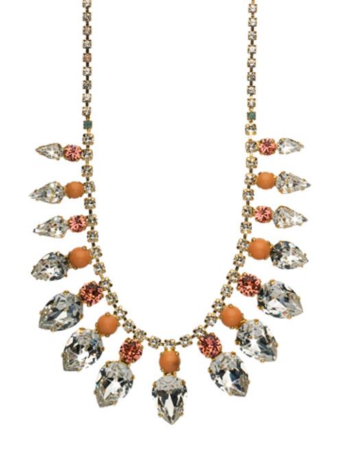 Sorrelli Coral Reef Crystal Necklace