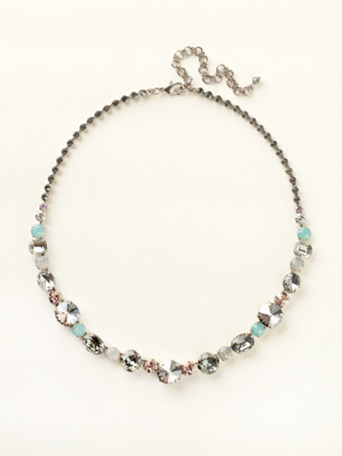 CRYSTAL MOSS NECKLACE BY SORRELLI NCP38ASCRM