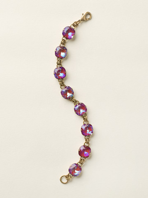 Sorrelli Ultra Ruby Crystal Bracelet BCY57AGUR