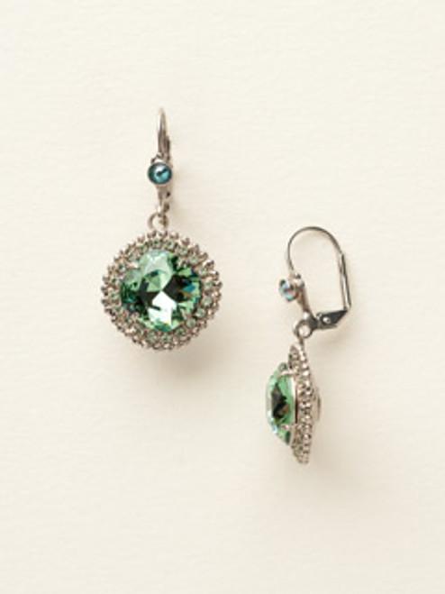 Sorrelli Sea Glass Crystal Earrings