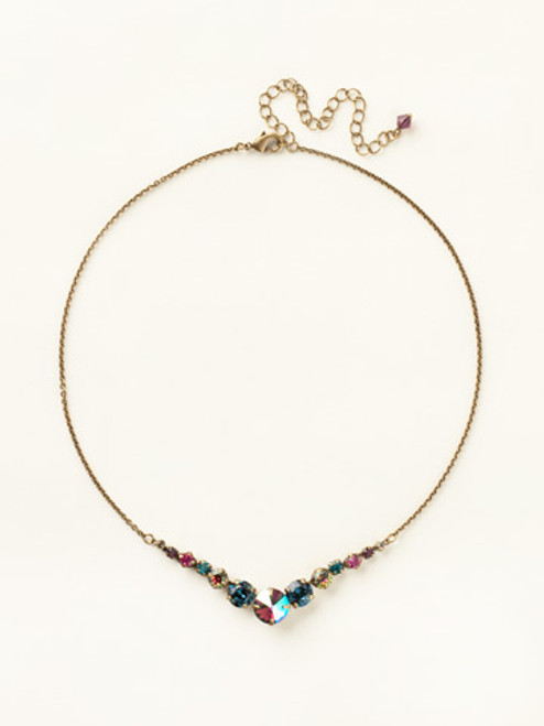 Multi Crystal Necklace