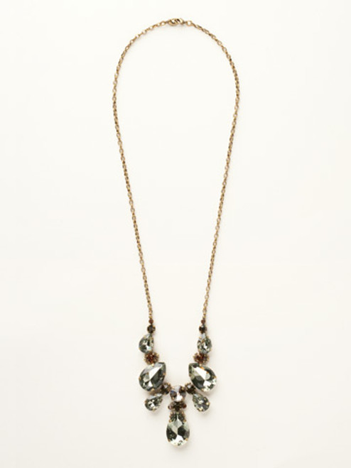 City Neutral Crystal Necklace