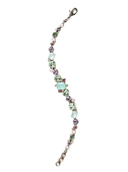 Sorrelli CUPCAKE-Classic Multi-Cut Crystal Tennis Necklace~ BCR137ASCUP