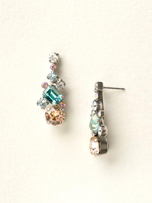 Blue Peach Earrings