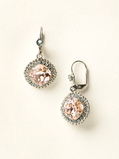 Sorrelli Sky Blue Peach Crystal Earrings ECB20ASSKY