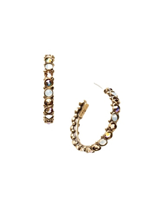 Sorrelli AMARETTO- Heavenly Hoop Earrings~ ECQ24AGAMA