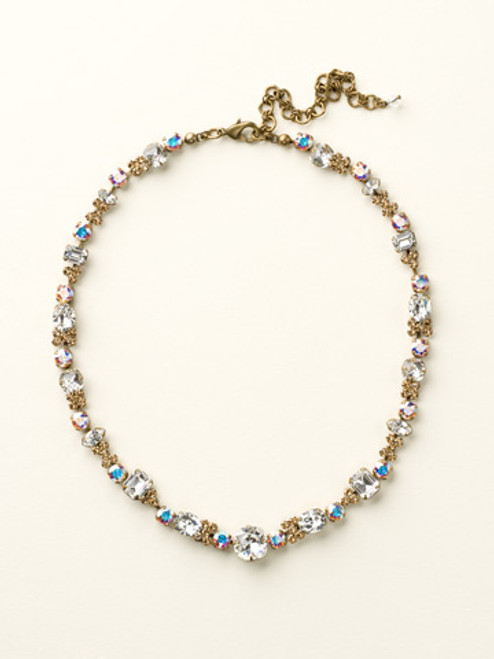 NEUTRAL TERRITORY CRYSTAL NECKLACE BY SORRELLI ncd2agnt
