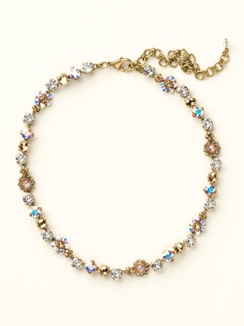 NEUTRAL TERRITORY CRYSTAL NECKLACE BY SORRELLI NBE2AGNT
