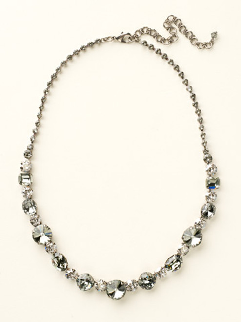 Crystal Rock Necklace by Sorrelli NCP38ASCRO