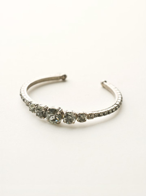 **SPECIAL ORDER**Crystal Rock Cuff Bracelet by Sorrelli~BCQ14ASCRO