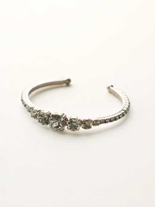 Crystal Rock Cuff Bracelet by Sorrelli BCQ14ASCRO