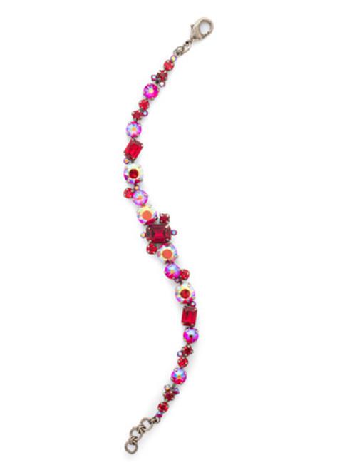 **SPECIAL ORDER**Cranberry Crystal Bracelet by Sorrelli~BCR137ASCB