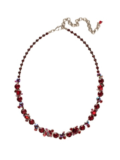 *Special Order*- Cranberry Crystal Necklace by Sorrelli~NCF6ASCB