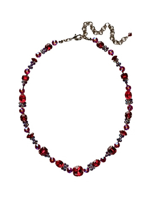 *SPECIAL ORDER* Cranberry Crystal Necklace by Sorrelli~NCD2ASCB
