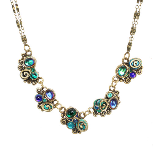 Michal Golan Emerald Collection Necklace WN3722