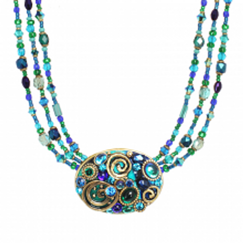 Michal Golan Emerald Collection Necklace N3720