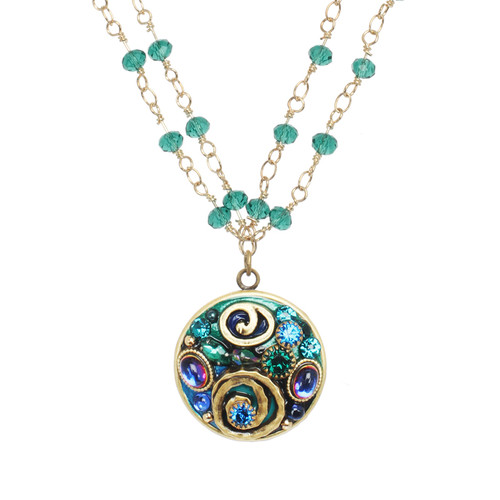 Michal Golan Emerald Collection Necklace WN3735
