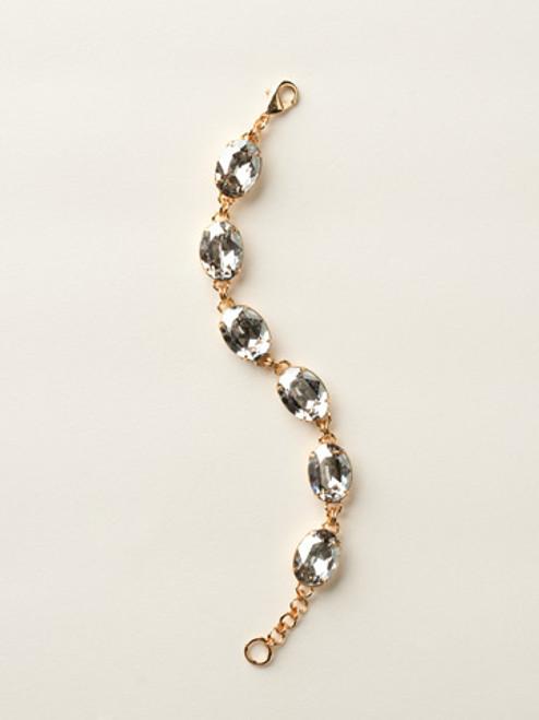 Soft Silhouettes Crystal Bracelet by Sorrelli BCY58BGSSH